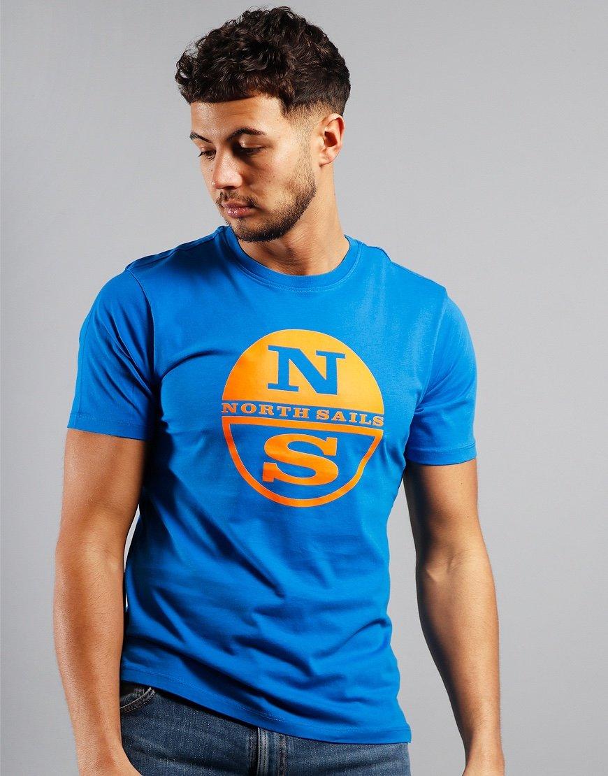 North Sails Graphic T-Shirt Royal