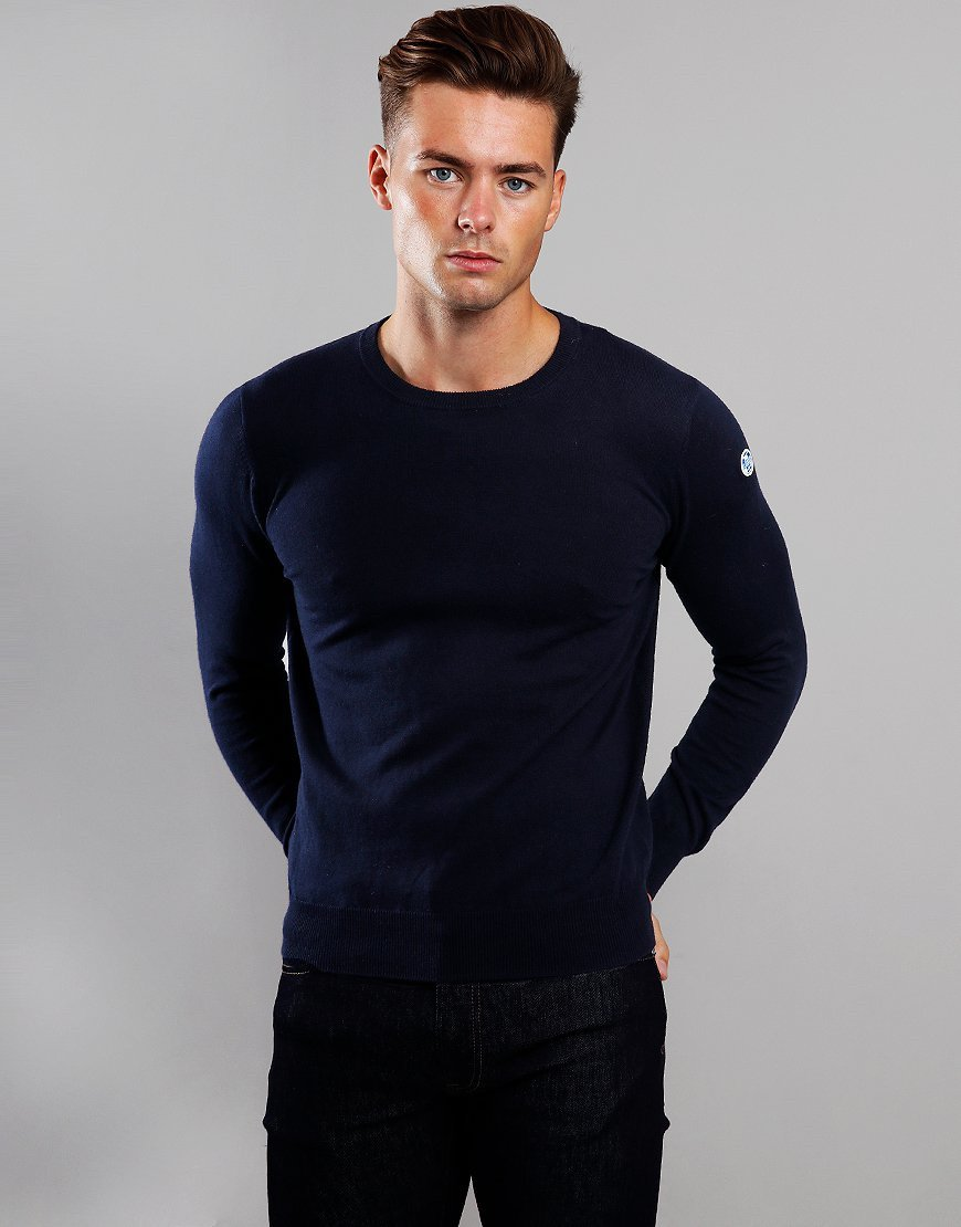 North Sails Round Neck knit Navy