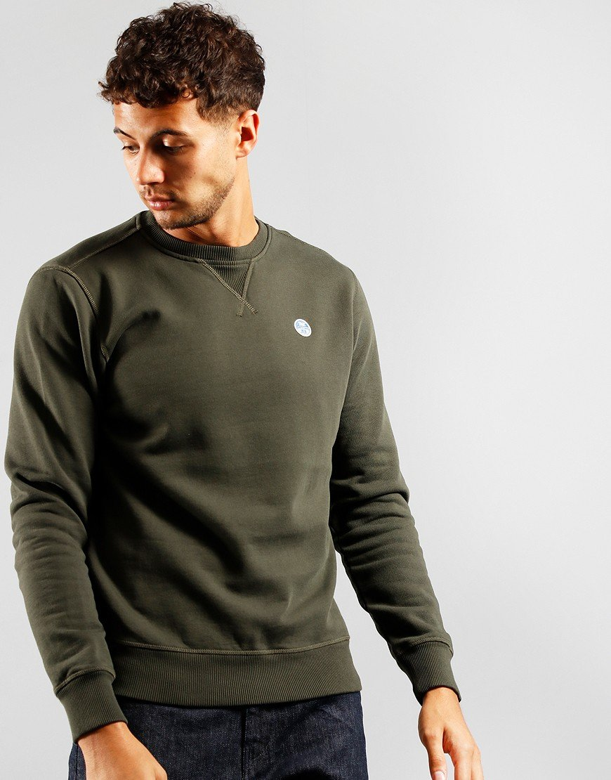 North Sails Crew Neck Sweat Forest