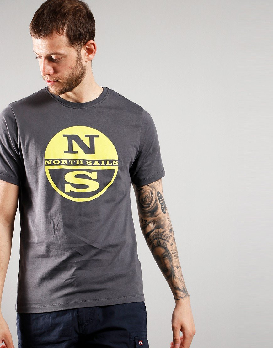 North Sails Graphic Print T-Shirt Asphalt