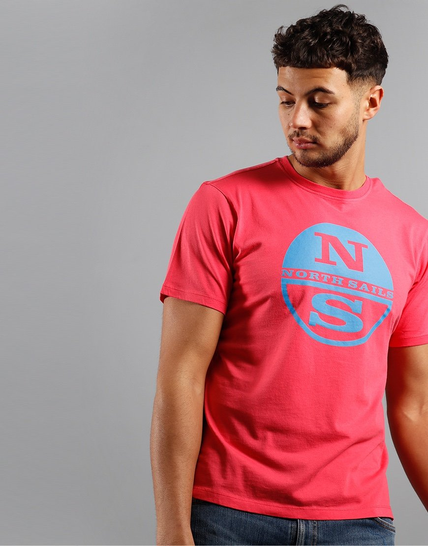 North Sails Graphic T-Shirt Rouge Red