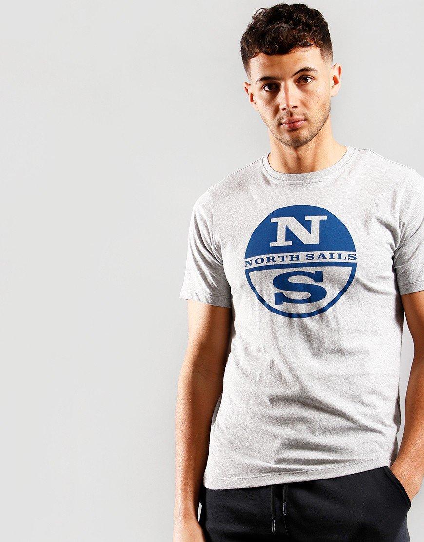 North Sails Graphic Print T-Shirt Grey