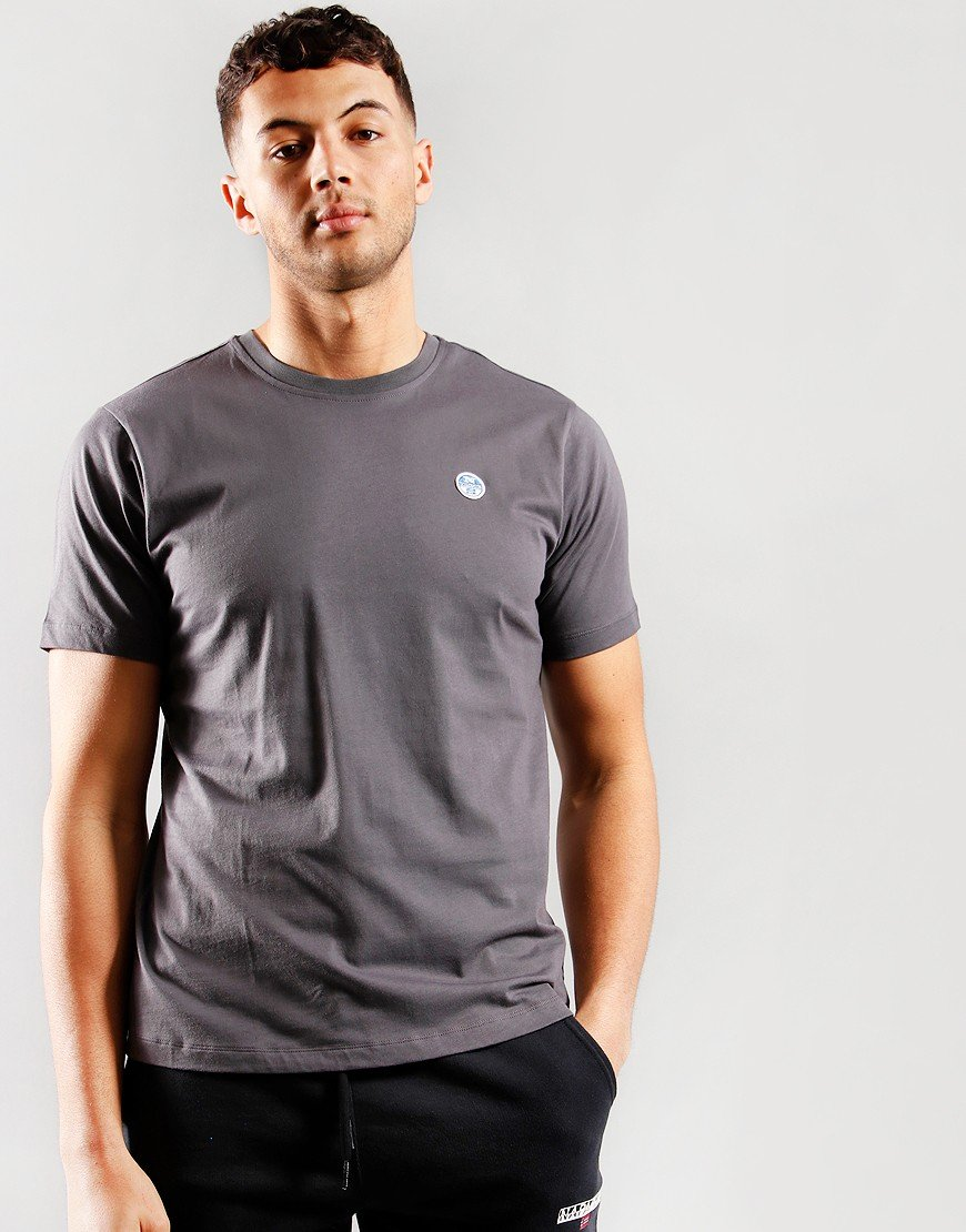 North Sails Plain T-shirt Lead