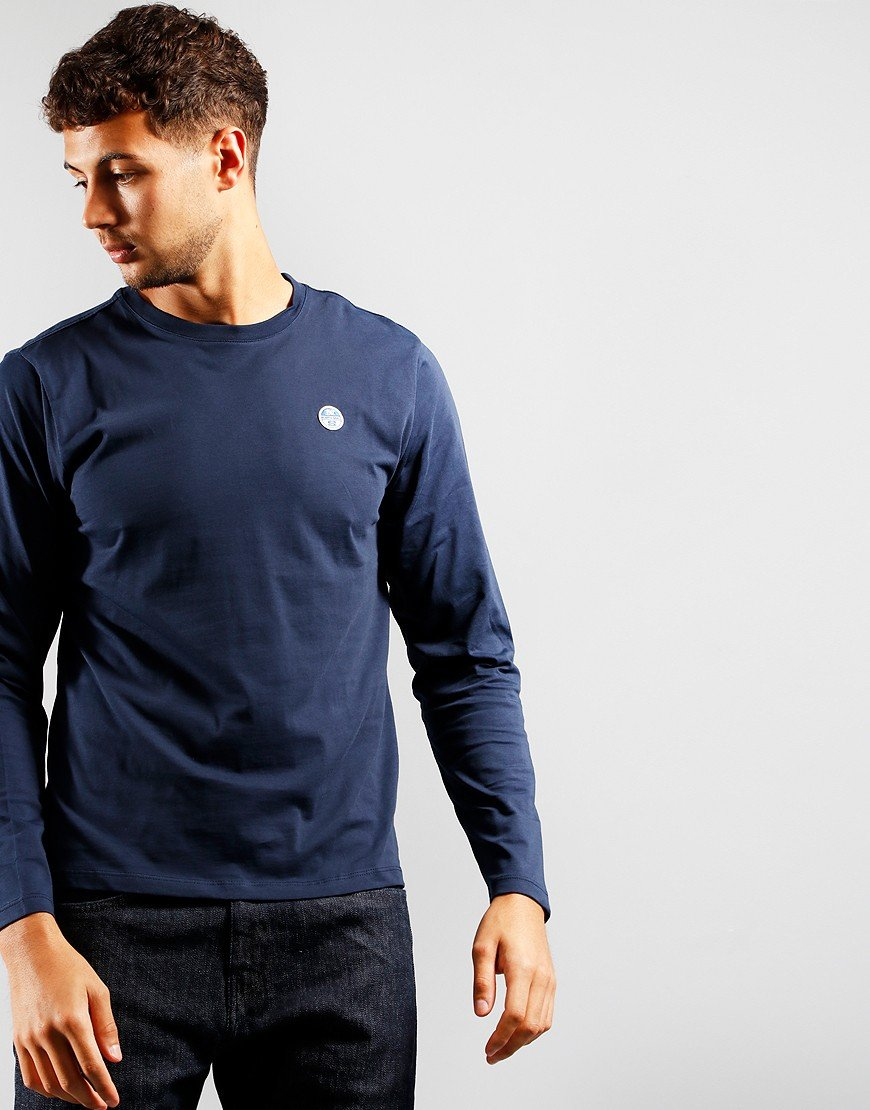 North Sails Long Sleeve T-Shirt Navy