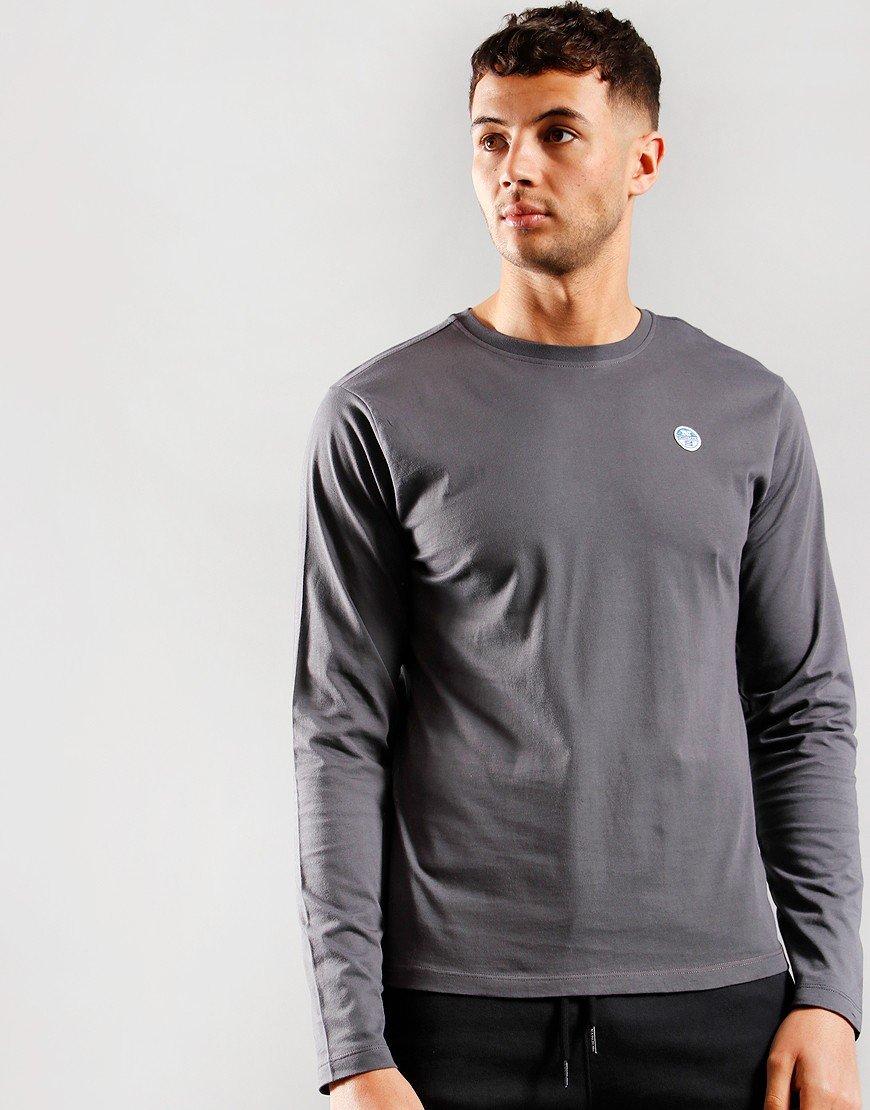 North Sails Long Sleeve T-Shirt Asphalt