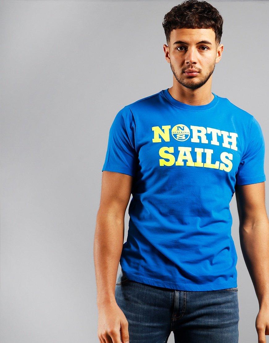North Sails Script T-shirt Royal