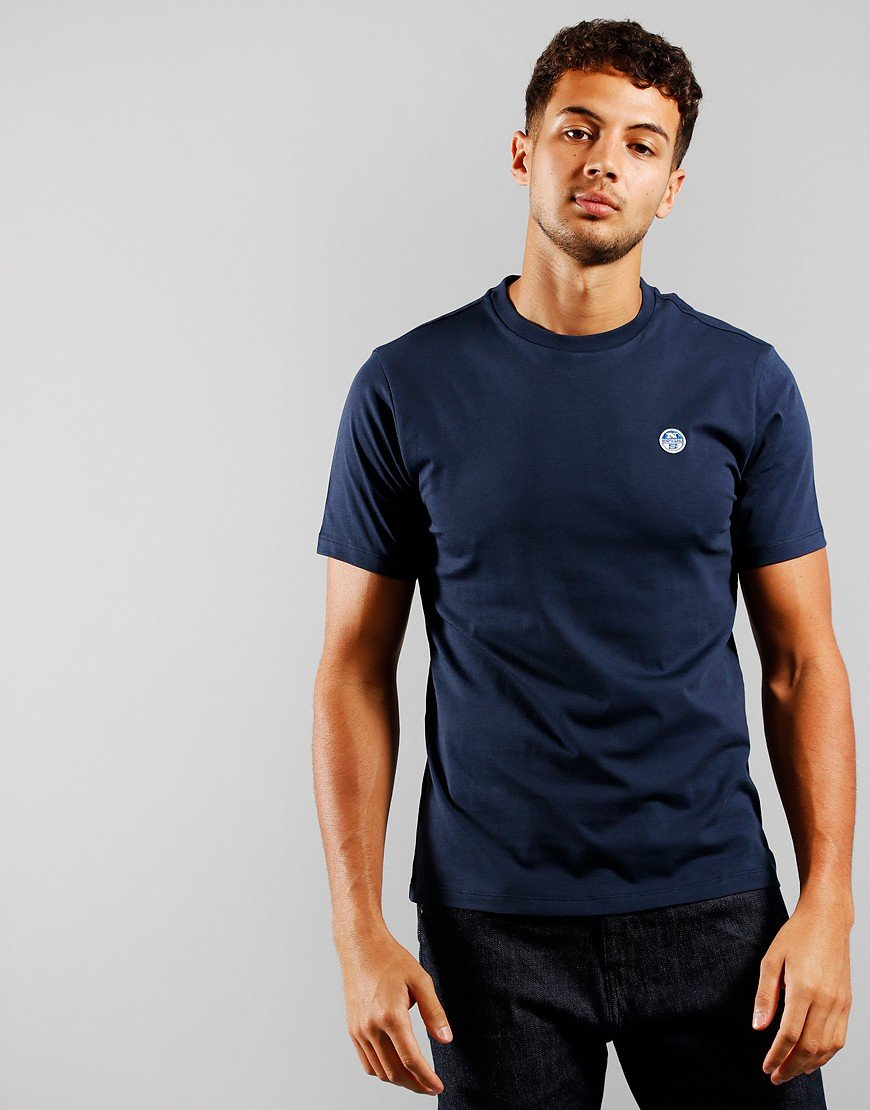 North Sails Plain T-Shirt Navy