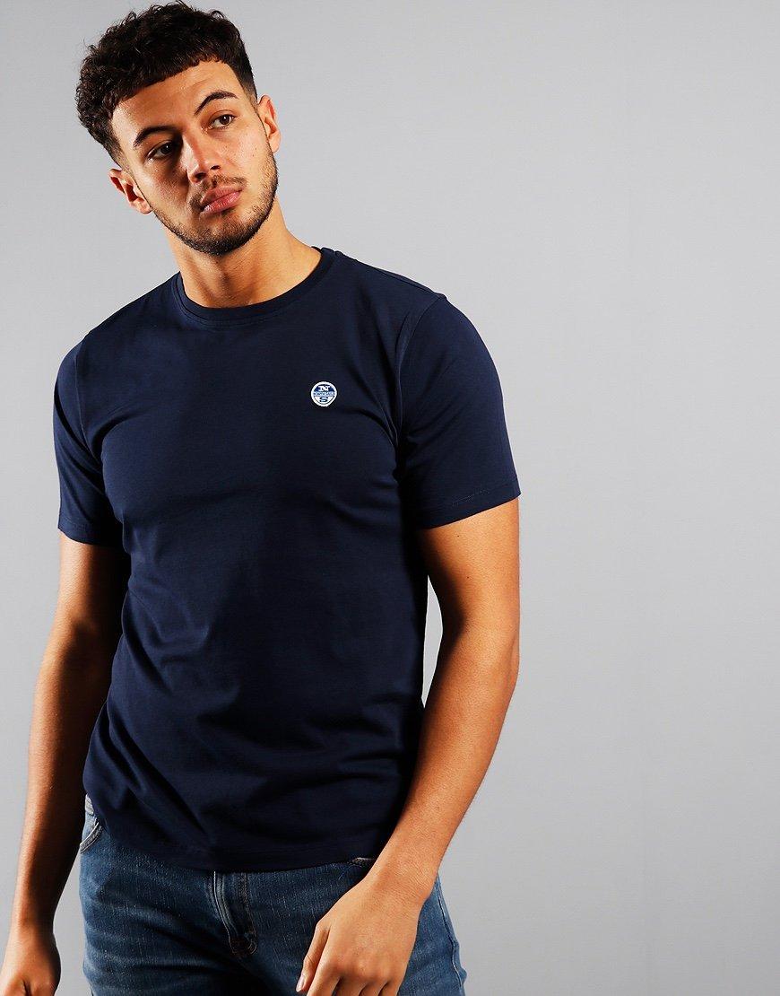 North Sails Plain T-Shirt Blue