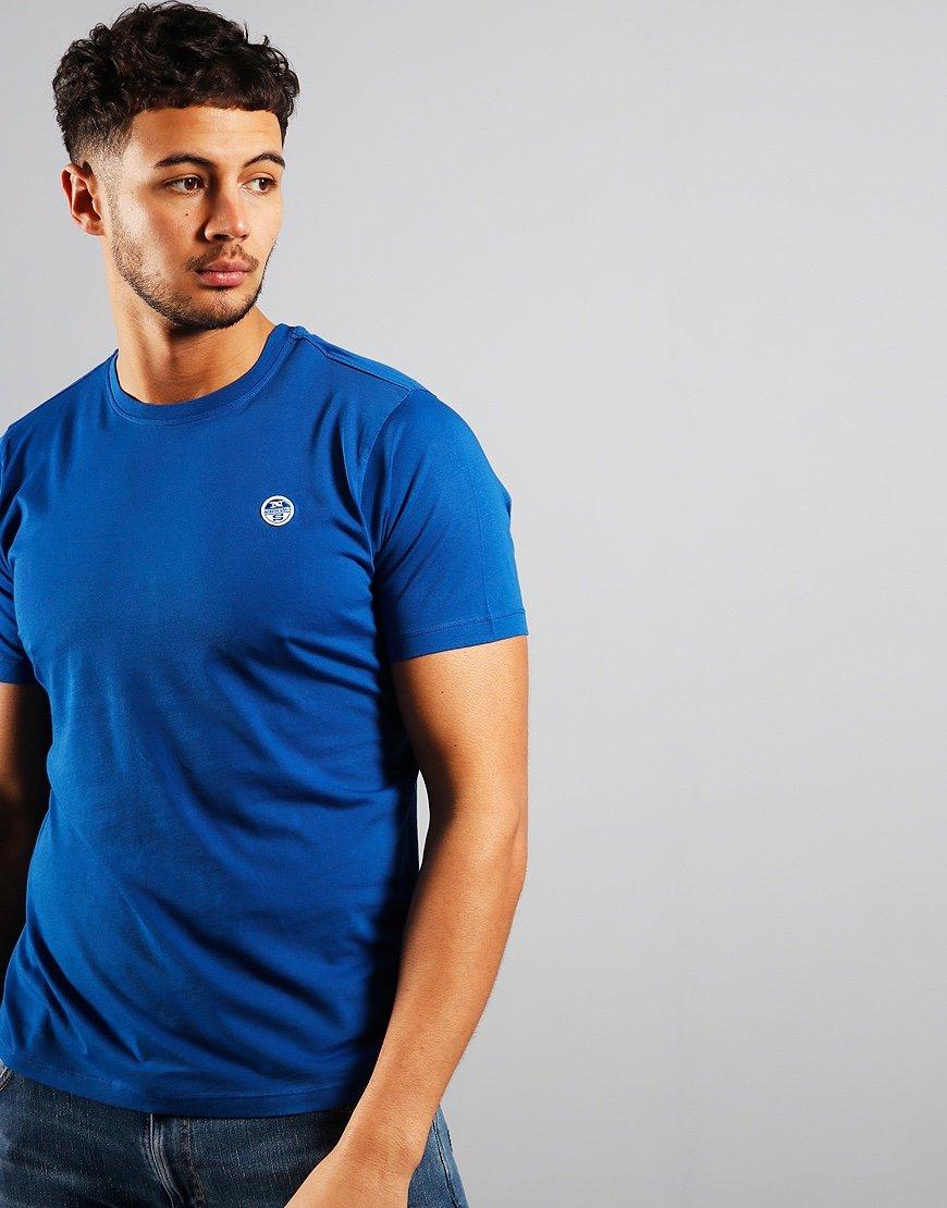 North Sails Plain T-Shirt Ocean Blue