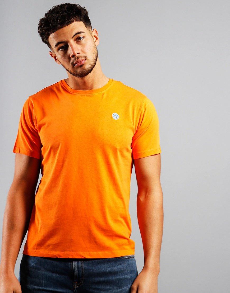 North Sails Plain T-Shirt Vibrant Orange