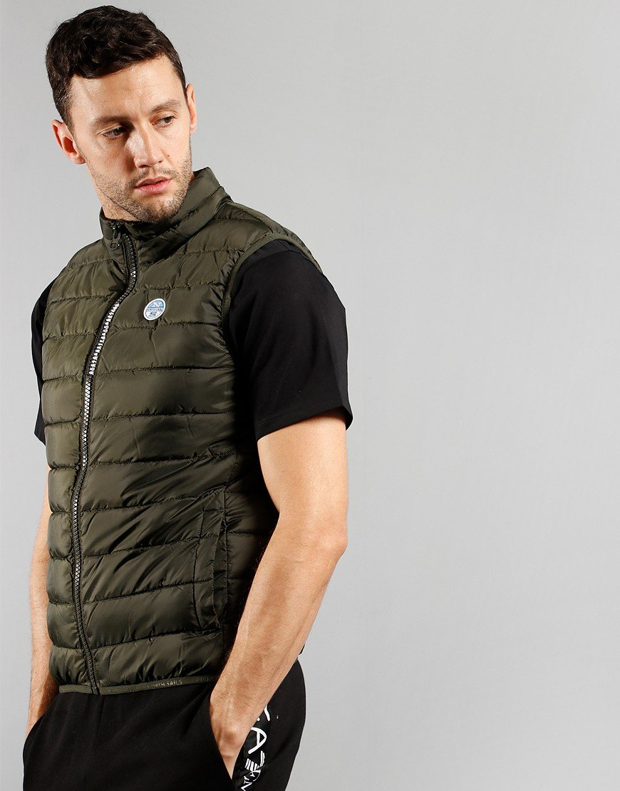 North Sails Skye 2 Gilet Forest Green