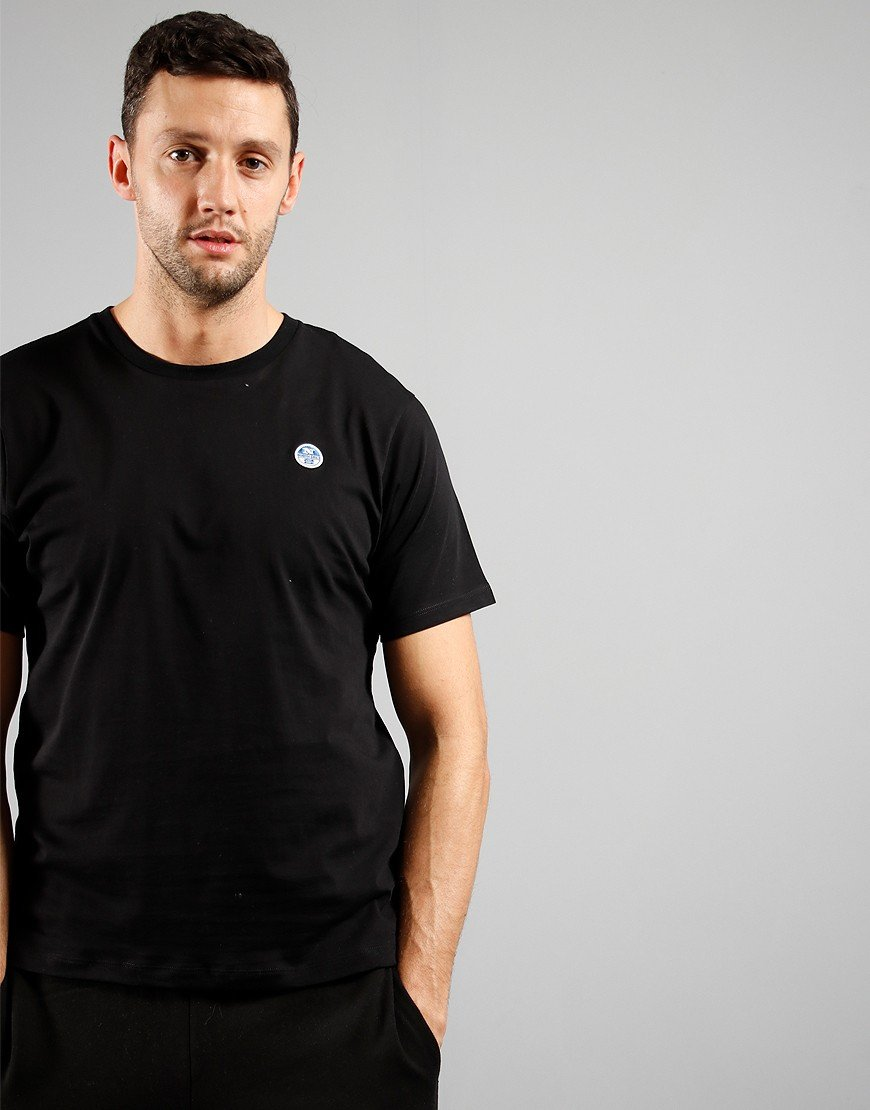 North Sails T-Shirt Short Sleeves Black