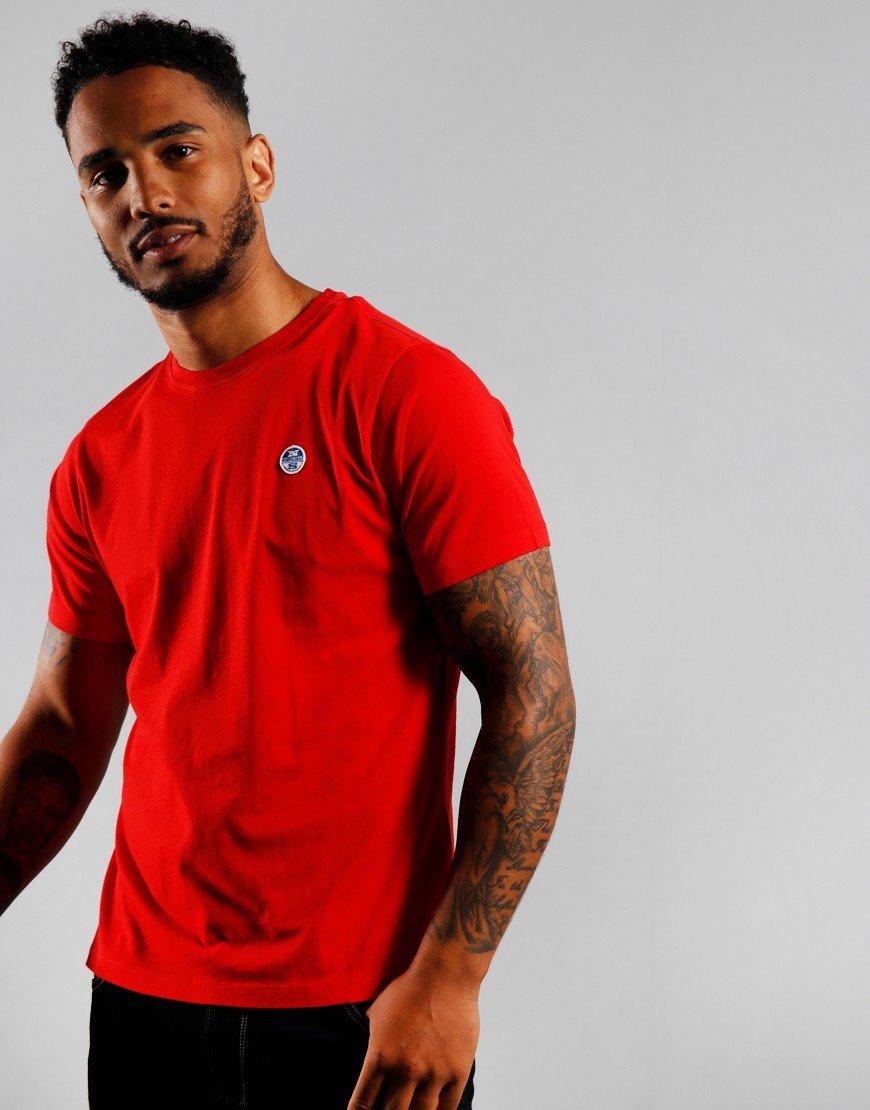 North Sails Plain T-shirt Red