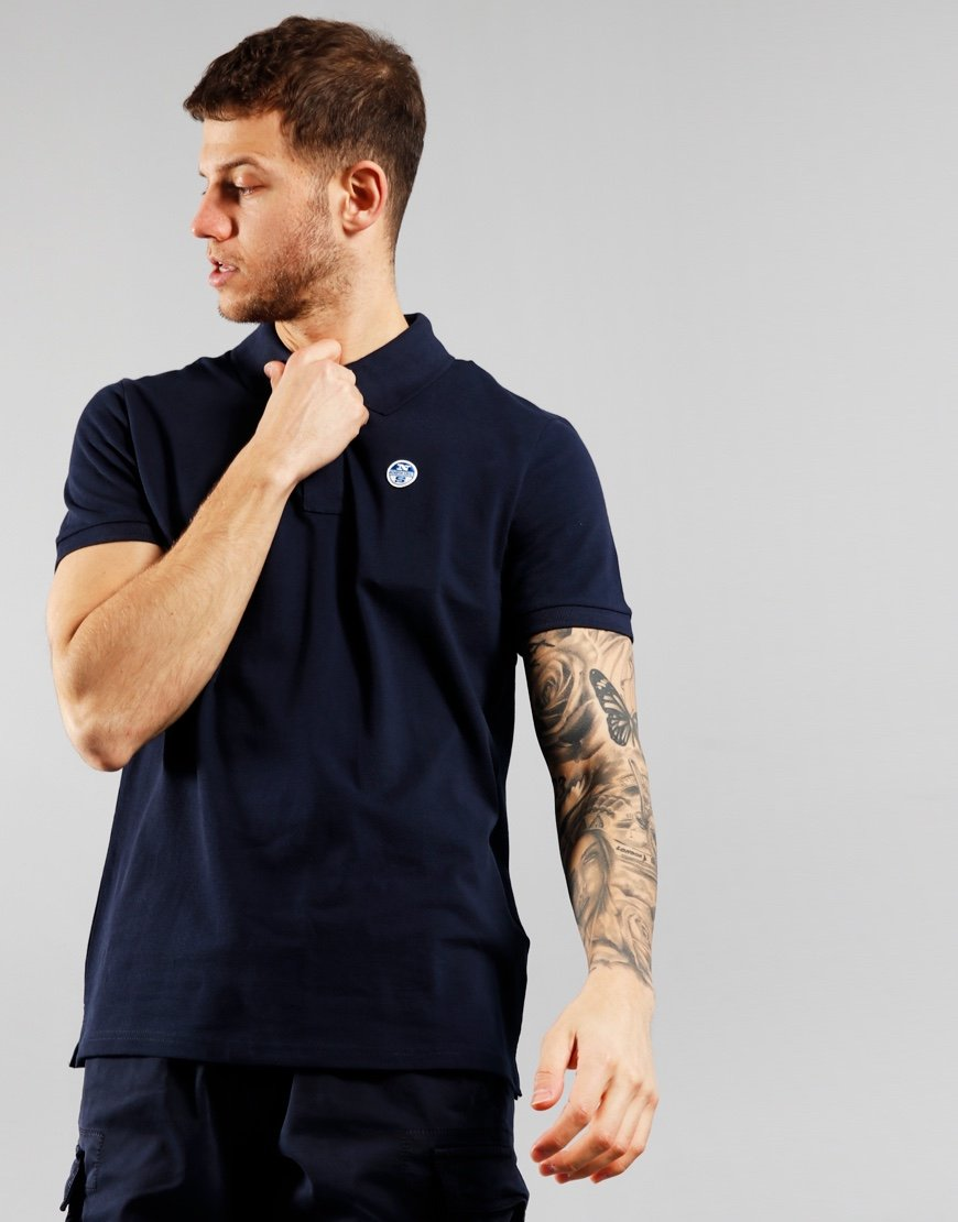 North Sails Polo Shirt Navy Blue