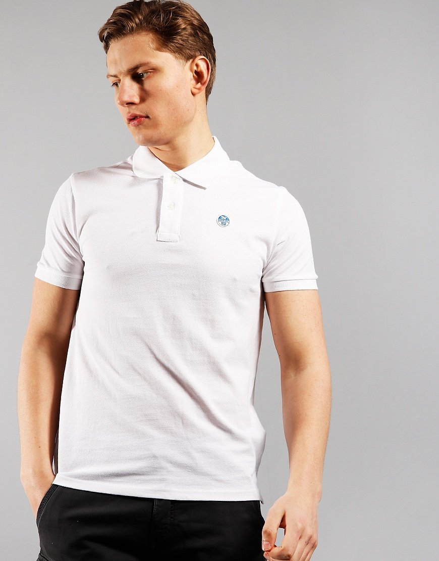 North Sails Polo Shirt White