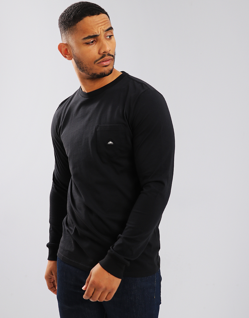 Penfield Northbridge Long Sleeve Pocket T-Shirt Black