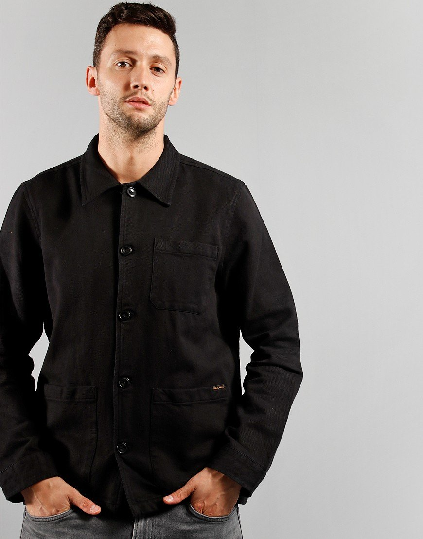 Nudie Jeans Co. Barney Jacket Black