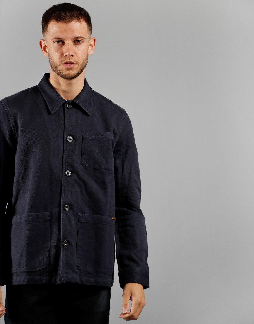 Nudie Jeans Co. Barney Jacket Navy
