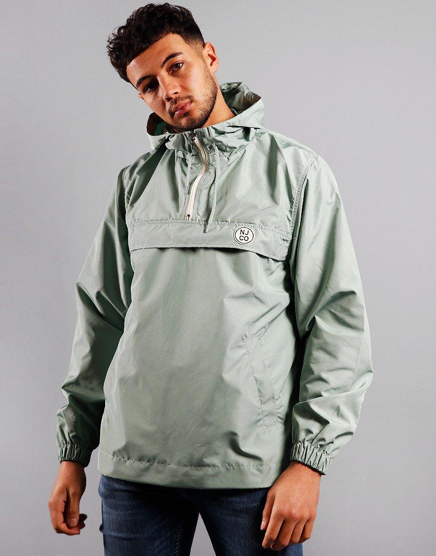 Nudie Buster Overhead Jacket Pale Green
