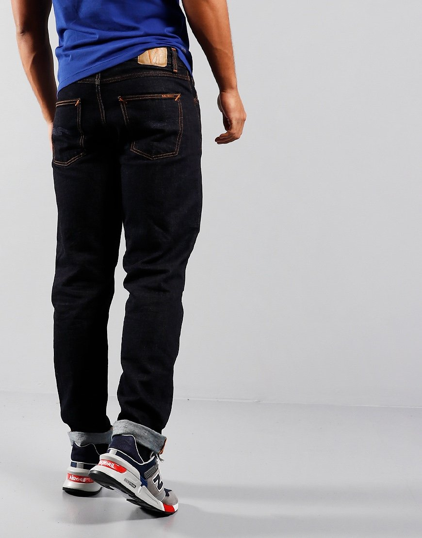 Nudie Steady Eddie II Tapered Fit Jeans Rinsed