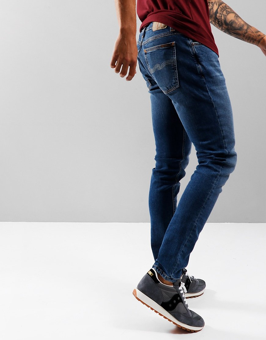 Nudie Skinny Lin Slim Fit Jeans Authentic Power