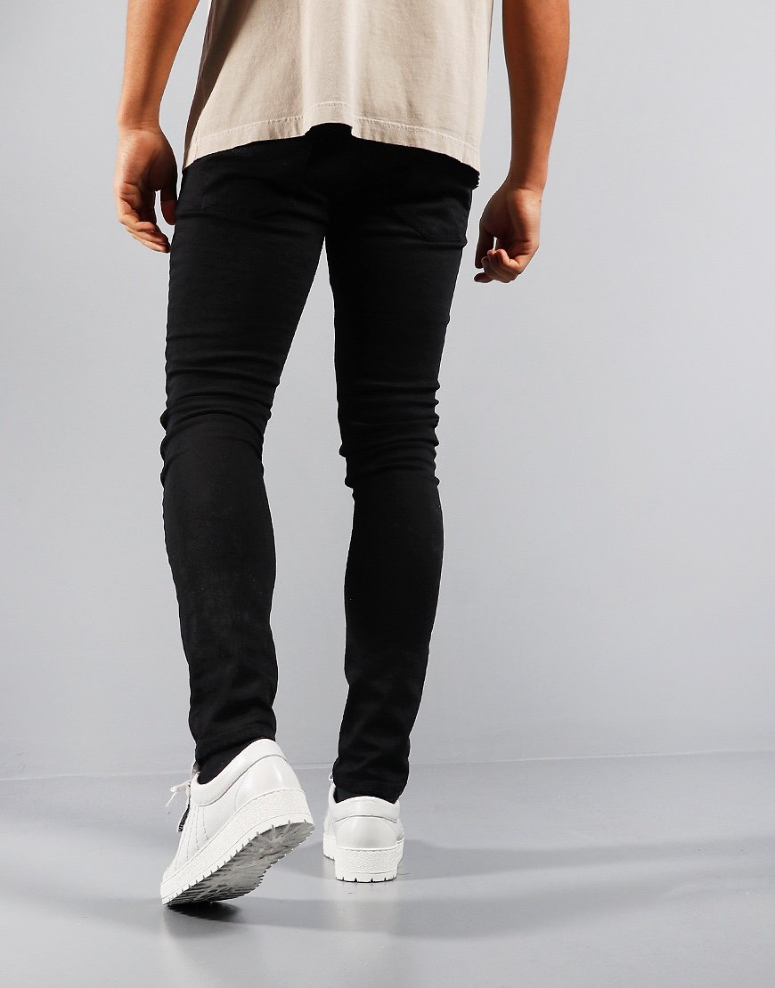 Nudie Skinny Lin Slim Fit Jeans Black