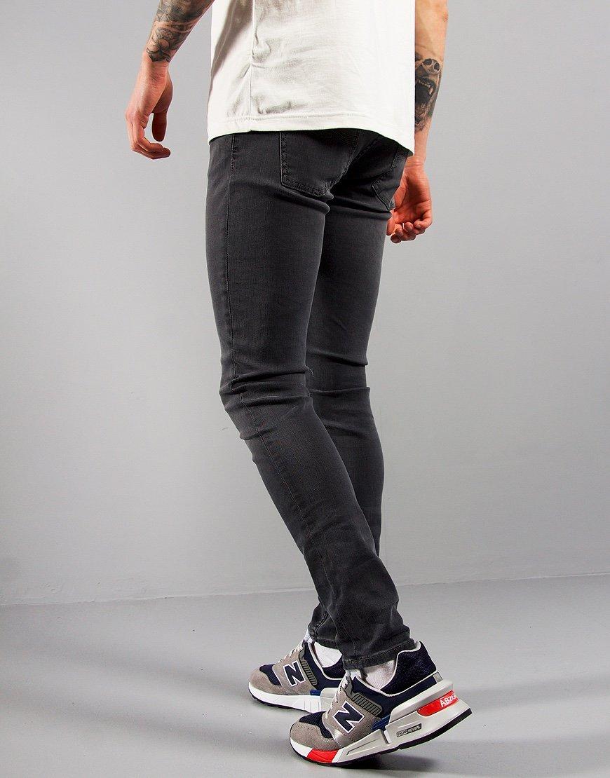 Nudie Skinny Lin Slim Fit Jeans Grey