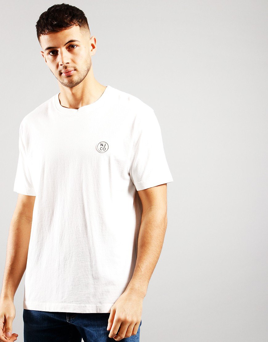 Nudie Jeans Co. Uno NJCO T-Shirt Chalk White