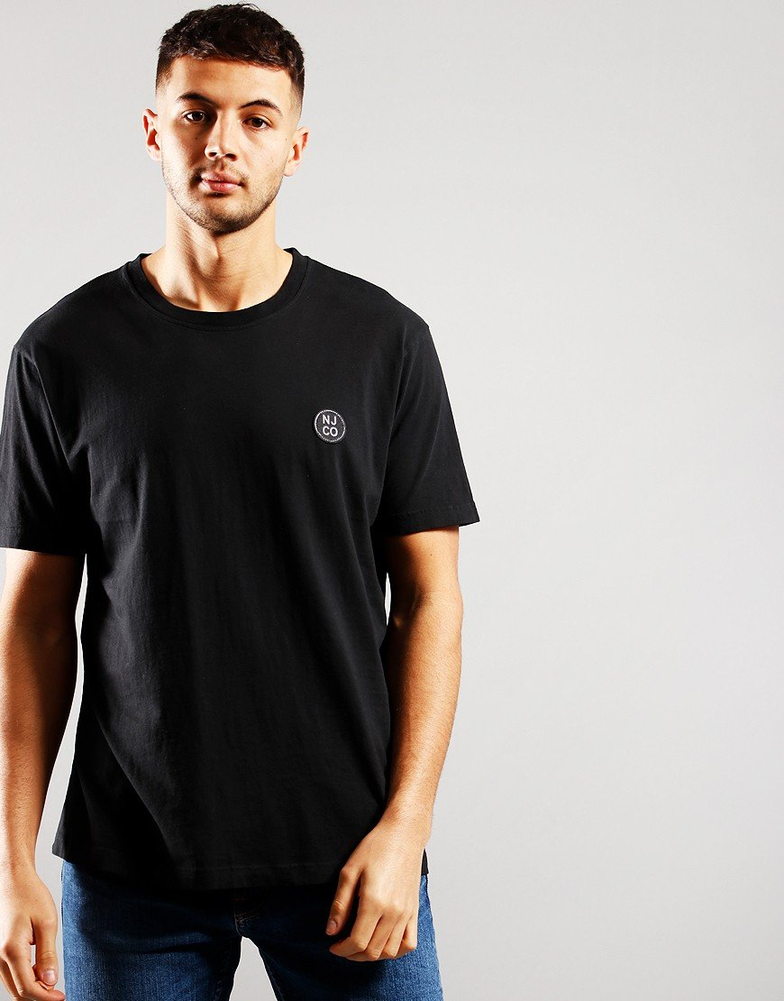 Nudie Jeans Co. Uno NJCO T-Shirt Faded Black