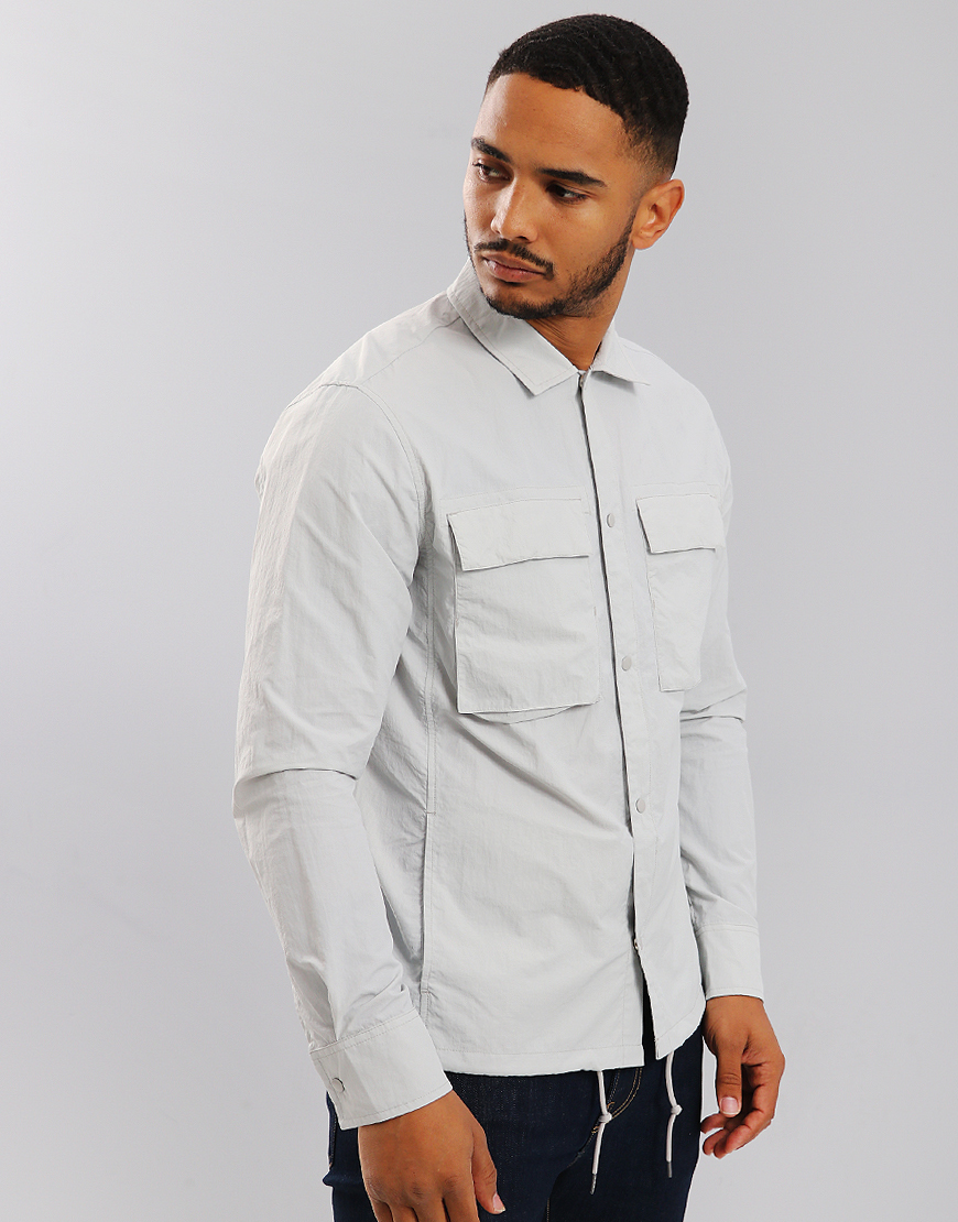 Penfield Oakledge Overshirt Silver Cloud