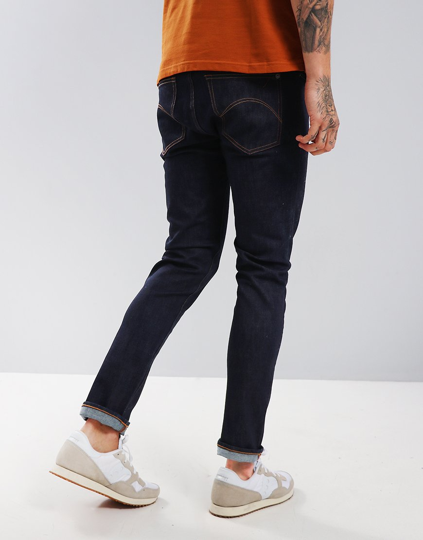 Pretty Green Castlefield Skinny Fit Jeans Rinse Wash