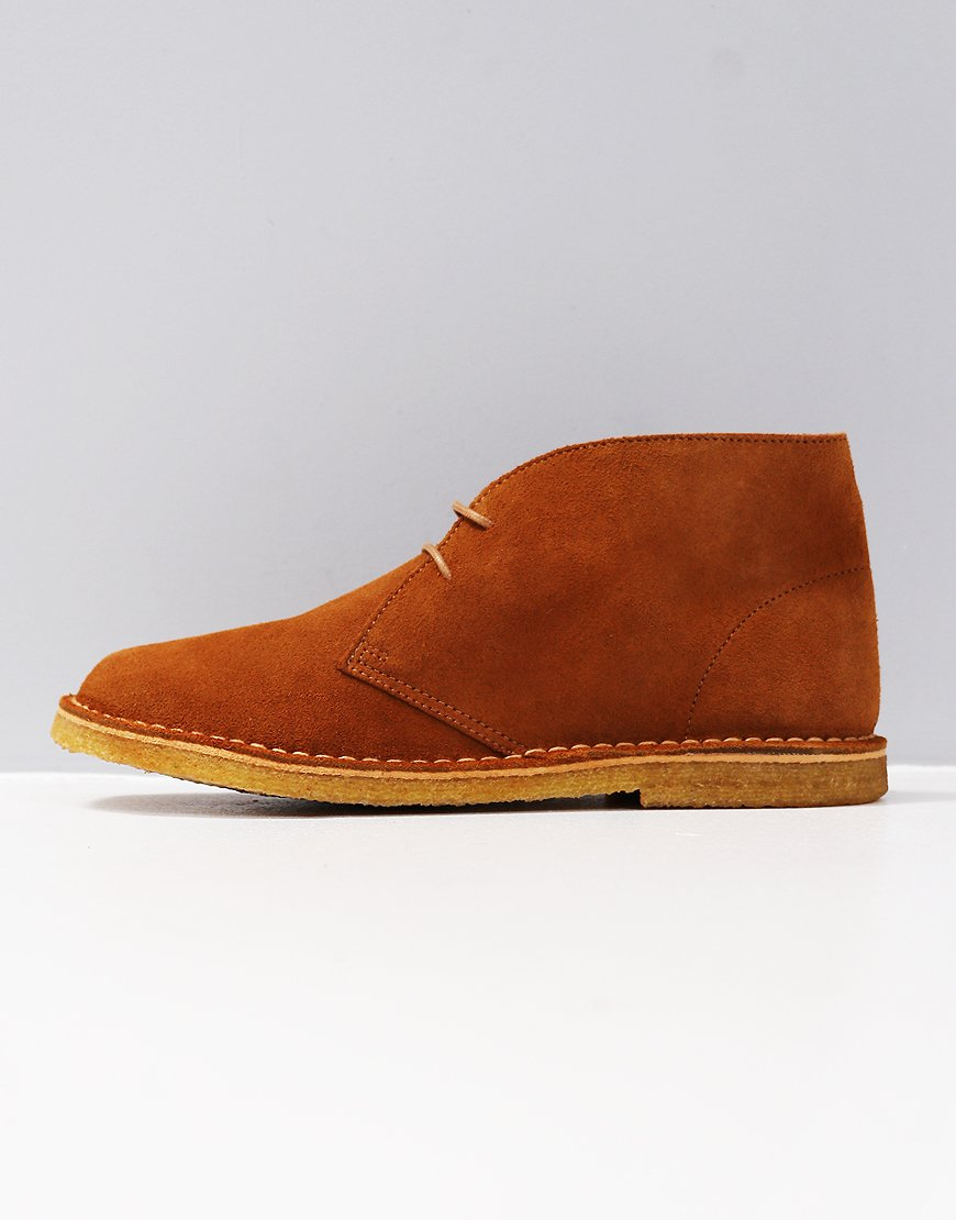 Pretty Green Suede Desert Boot Rust