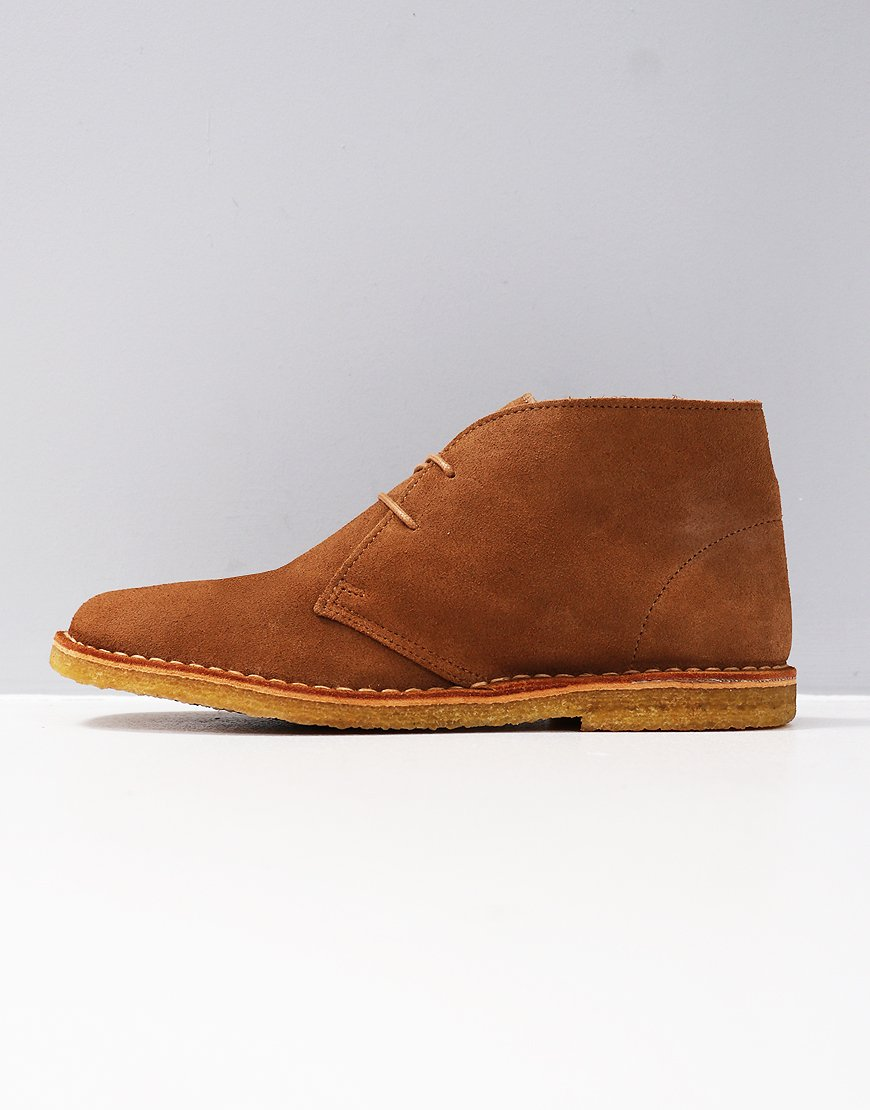 Pretty Green Suede Desert Boot Tan