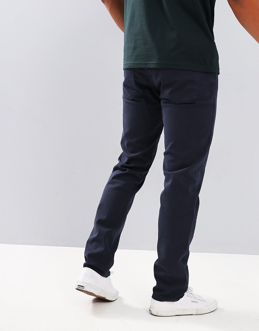Paul Smith Tapered-Fit Garment-Dye Jeans Navy
