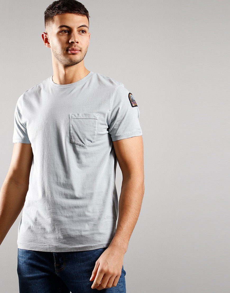 Parajumpers Basic Arm Logo T-shirt Quarry