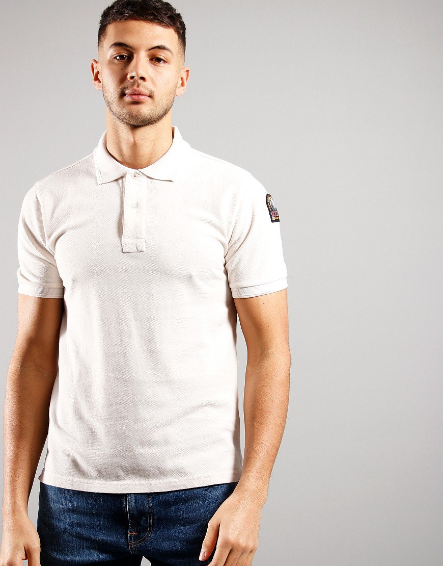 Parajumpers Basic Polo Shirt Moonbeam