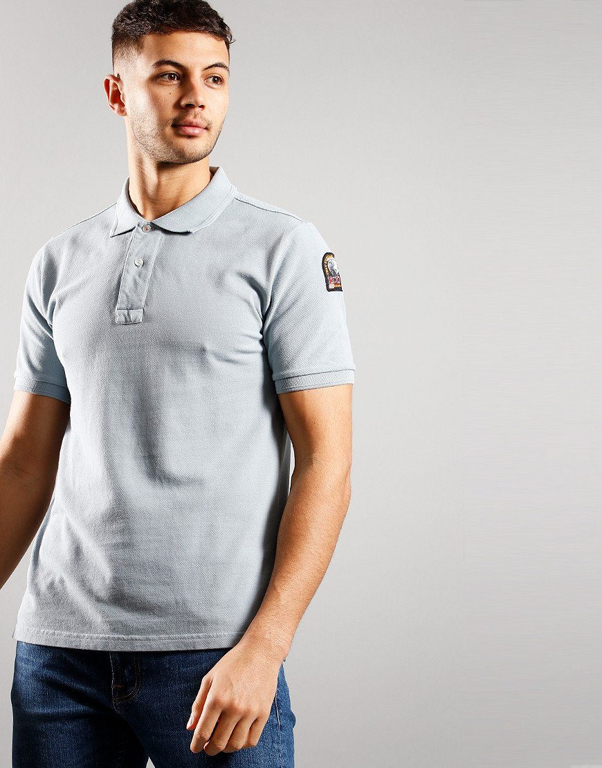 Parajumpers Basic Polo Shirt Quarry