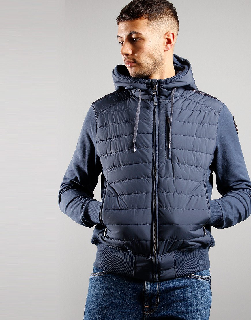 Parajumpers Ivor Hooded Jacket Flint Stone