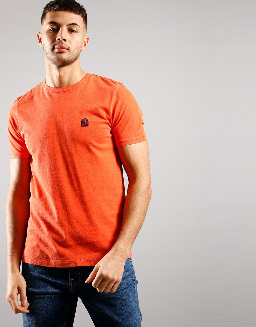 Parajumpers Patch T-Shirt  Carrot