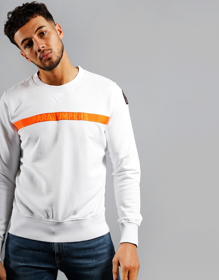 Parajumpers Armstrong Crew Sweat White