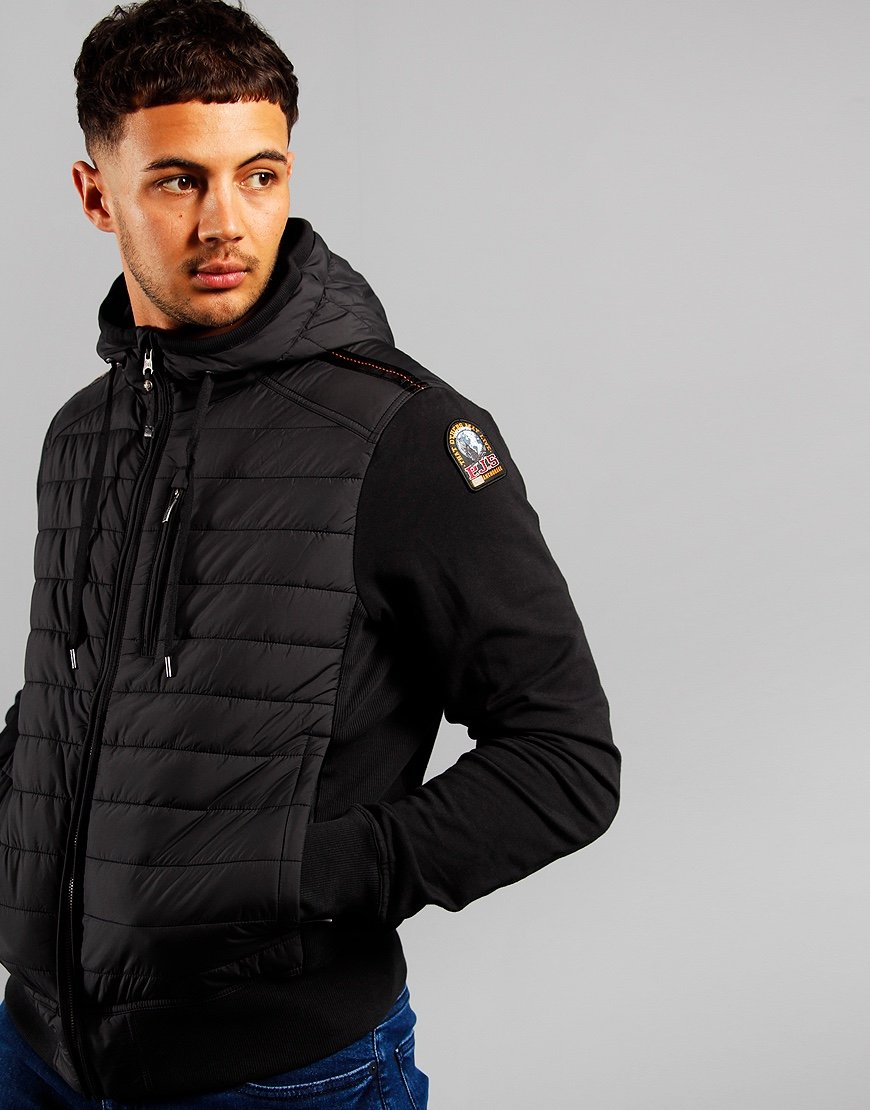 Parajumpers Ivor Hooded Shell Jacket Black