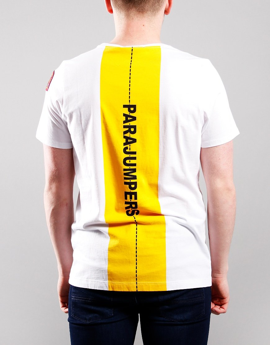Parajumpers Kids Track T-Shirt Off White