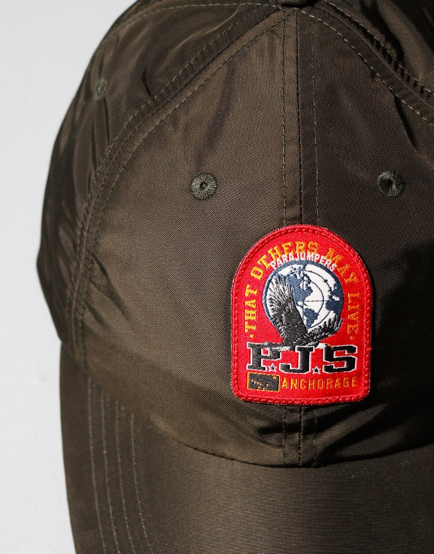 Parajumpers Patch Baseball Cap Sycamore