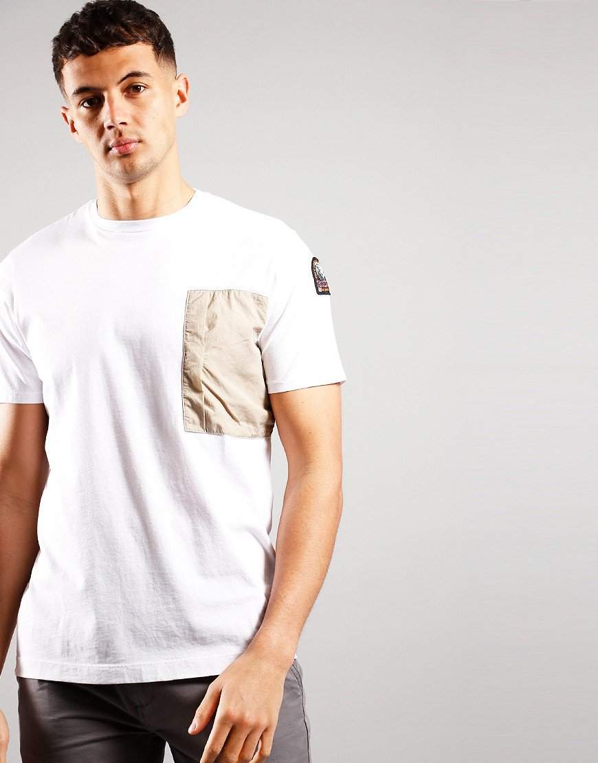Parajumpers Roy T-Shirt Silver