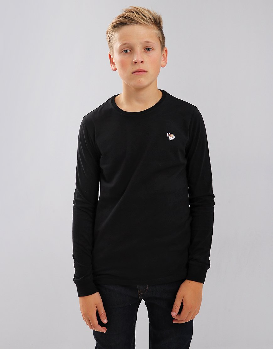 Paul Smith Junior Long Sleeve Sullivan T-shirt Black