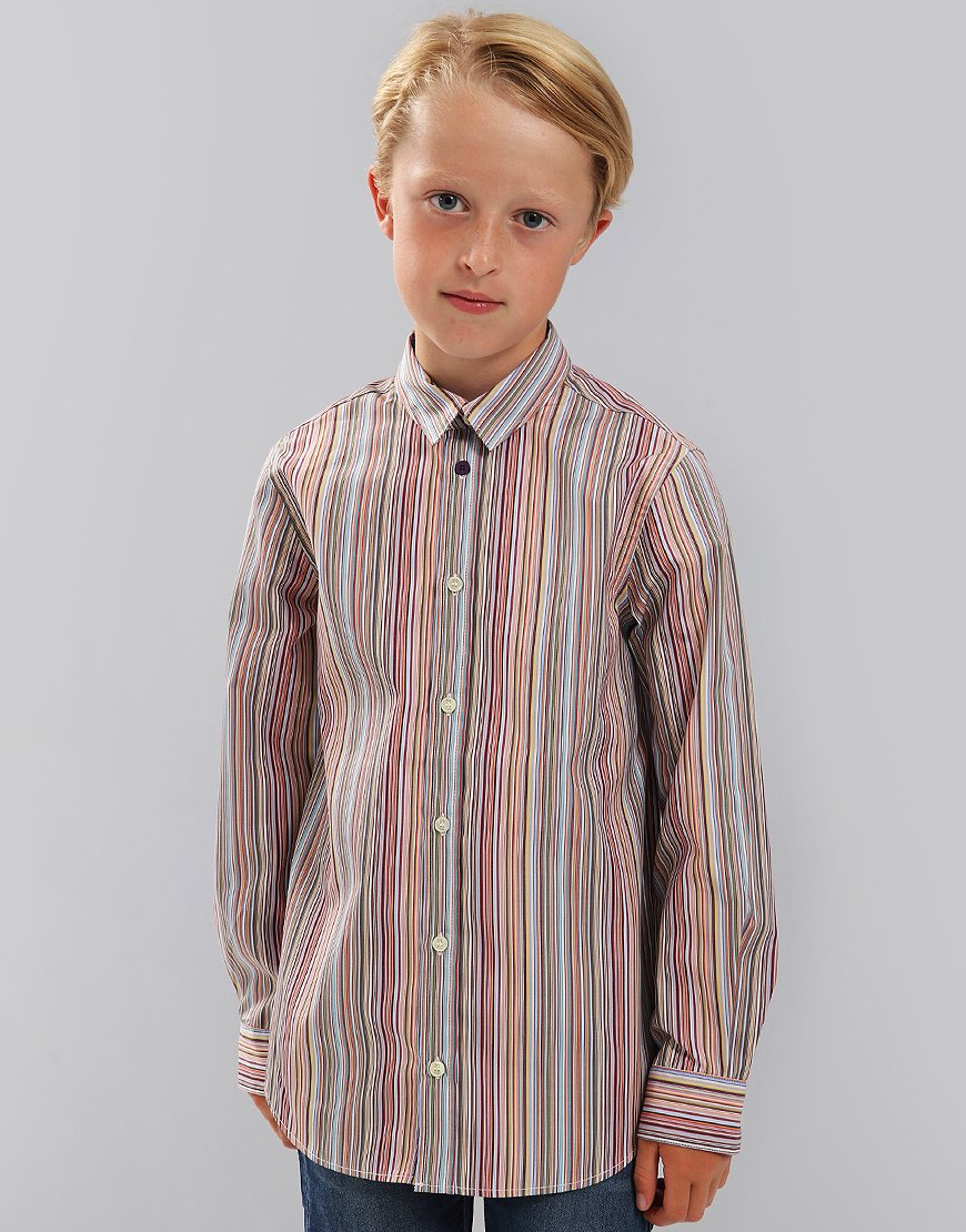 Paul Smith Junior Lorens Multistripe Shirt