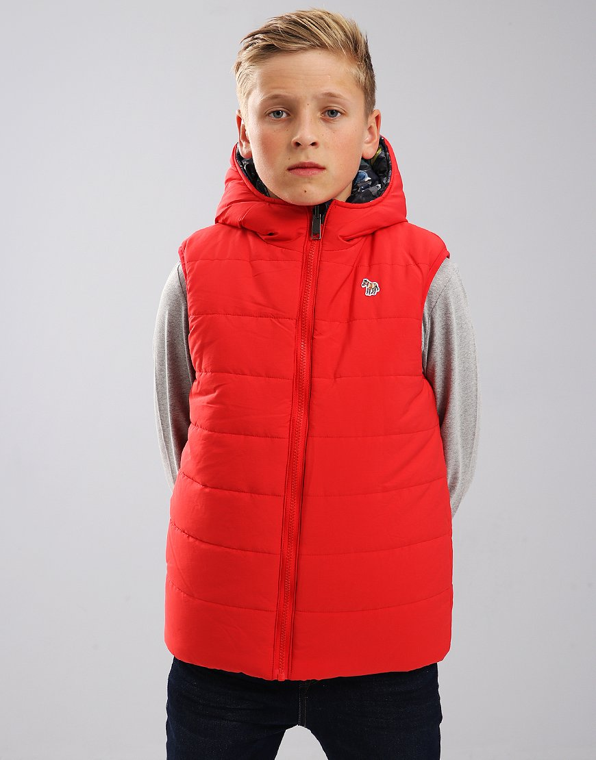 Paul Smith Junior Salvador Jacket Red
