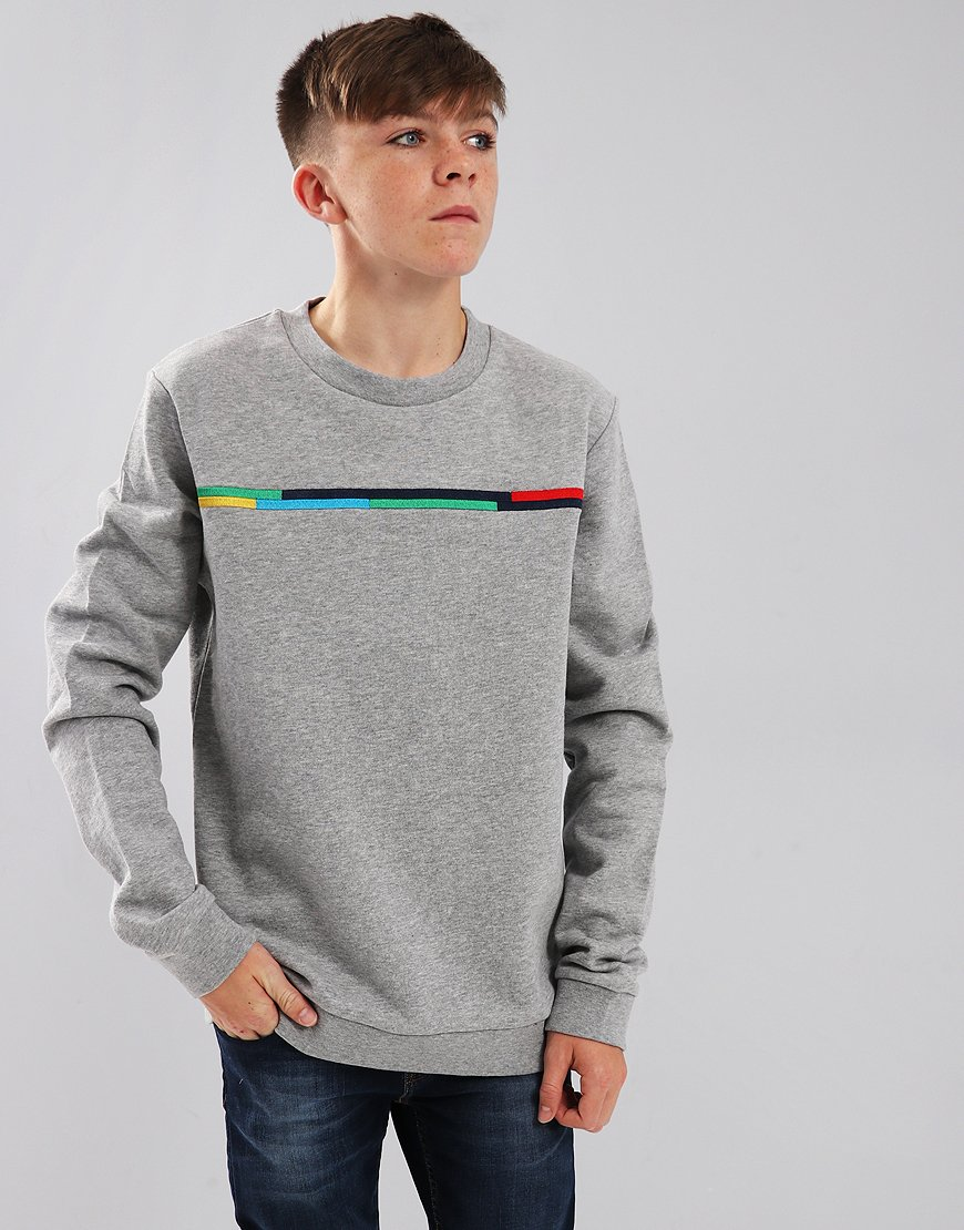 Paul Smith Junior Solace Sweat Marl Grey