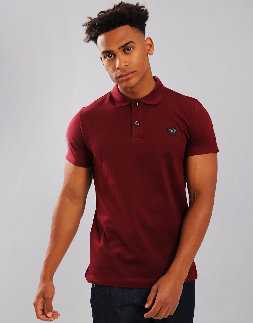 Paul & Shark Polo Shirt  Dark Wine