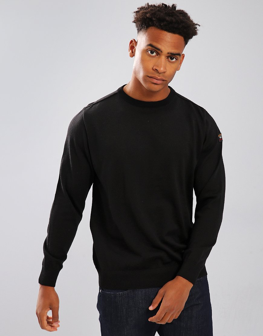 Paul & Shark Crew Neck Jumper Black